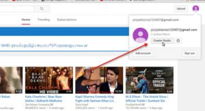 How to Create YouTube Channel seting