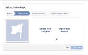Facebook Business profile picture