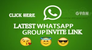 Free Latest WhatsApp Group Invite Link