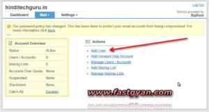 business email add user