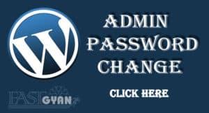 WordPress Admin Password Change Kaise Kare