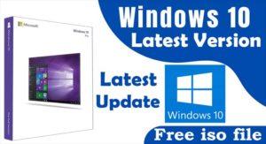 Windows 10 Latest Version ISO File Download kare